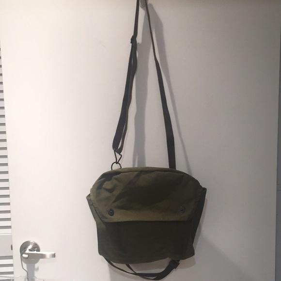 Army crossbody bag, green